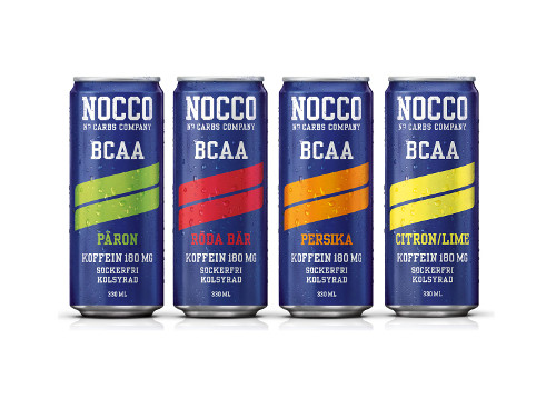 NOCCO BCAA Energidrycker